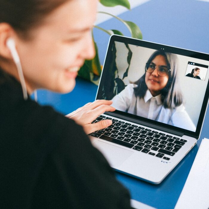 Virtual team staying connected